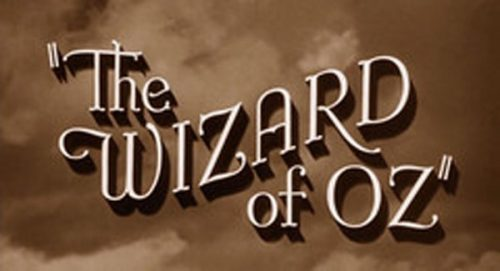 The Wizard of Oz Title Treatment