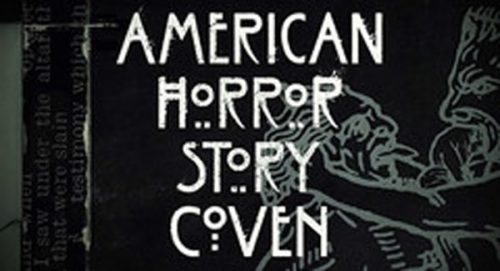 American Horror Story Coven Title Treatment