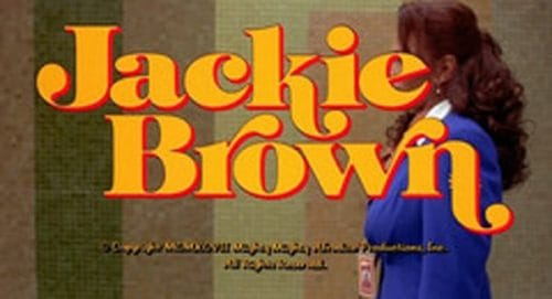 Jackie Brown Title Treatment