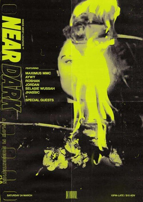 Ananthu Nair – Concert Poster : Flyer Distressed Grunge Design 005