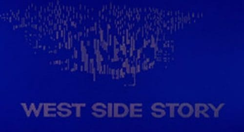 West Side Story Title Treatment