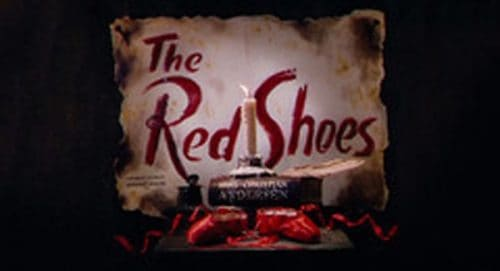 The Red Shoes Title Treatment