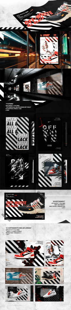 Nike x Off-White – Advertising & Apparel Campaign