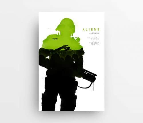 Joseph Harrold – Alternative Movie Poster Prints – Aliens