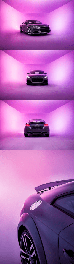 Slam Production – Audi TT – Automobile Photography
