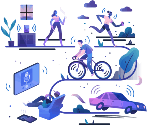 Spotify for Podcasters Illustrations by Jarom Vogel 001