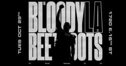 The Blood Beetroots LA Concert Poster