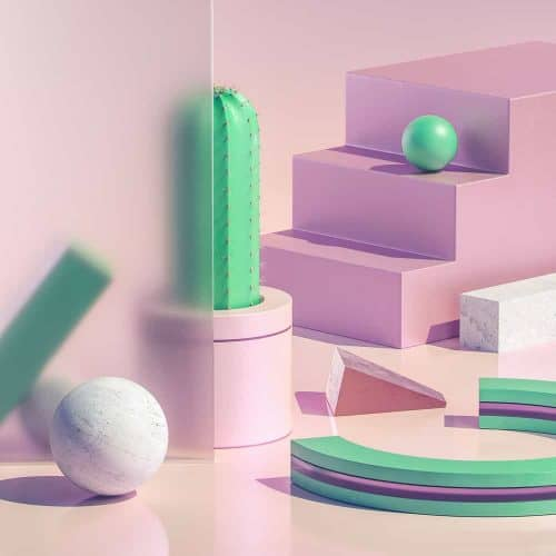 3D Illustrations by Sariselka – Isometric Cactus