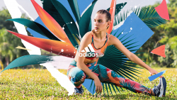 Adidas Movements of Brazil – Sports and Floral Graphic Design 003