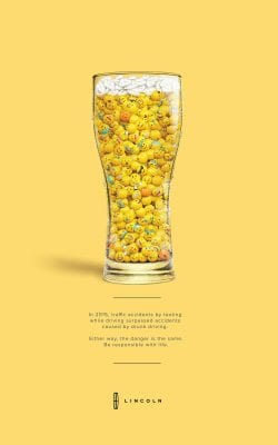 Lincoln Auto – Don't Text and Drive – Emoji Alcohol Public Service Announcemen ...