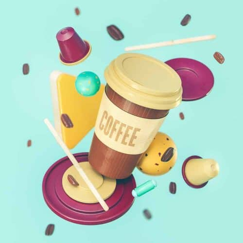 3D Illustrations by Sariselka – Coffee To Go Cup