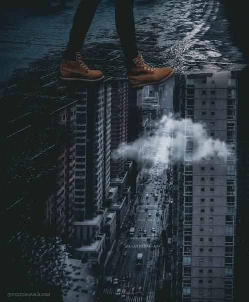 Surreal and beautiful photography and photoshop editing – Egzon Muliqi – Walking on  ...