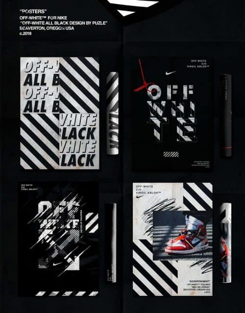 Nike x Off-White – Advertising & Apparel Campaign 003
