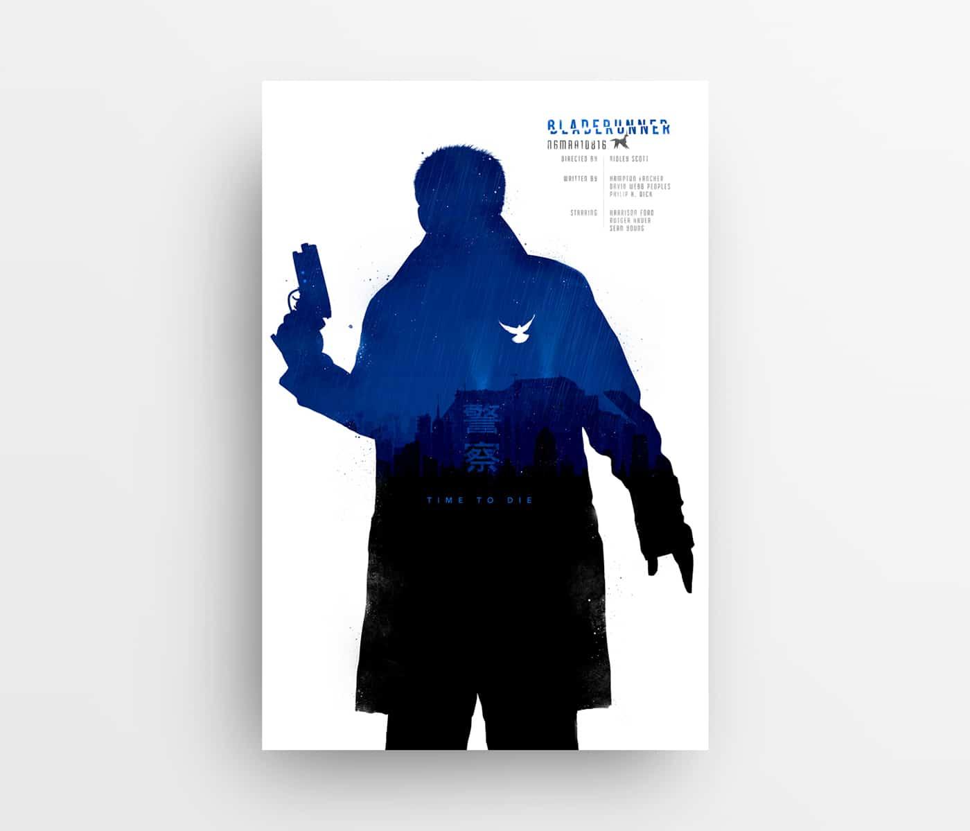 Joseph Harrold – Alternative Movie Poster Prints – Bladerunner