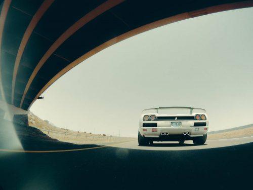 Daniel Trbovic Ferrari 288 GTO in 80's white – 3D Redshift Photography Glare Flare L ...