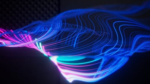 References | 3D Neon Light Waves