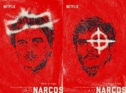 Illustrated Key Art by Jason Burnam – Narcos