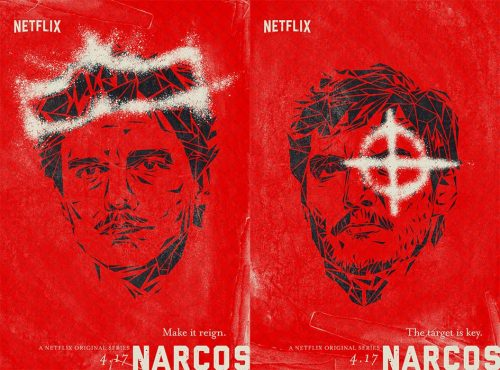 Illustrated Key Art by Jason Burnam – Narcos