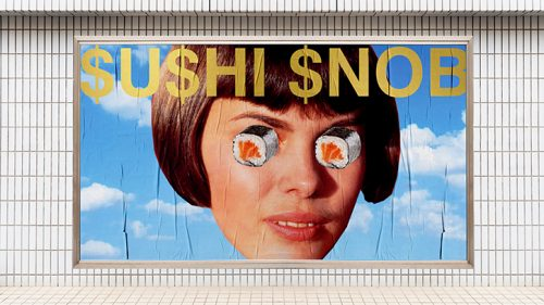 Ryan Haskins – $U$HI $NOB – Sushi Restaurant Rebrand Design