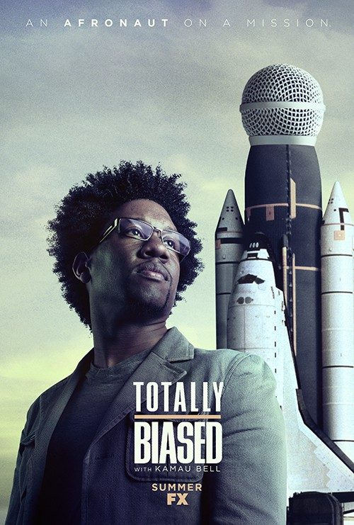 Key Art by Jason Burnam – Totally Biased with Kamua Bell – An Afronaut on a Mission