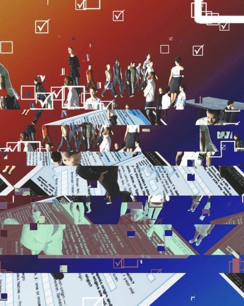 Yoshi Sodeoka – Digital Art – Glitch Distorted Designs