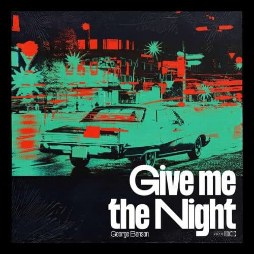 Graphic Design – Max Salzborn – Album Covers – George Benson: Give me the Night