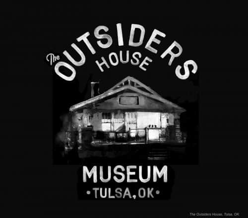 Glenn Wolk – Black and White Water Color Painting Style Designs – The Outsiders Hous ...