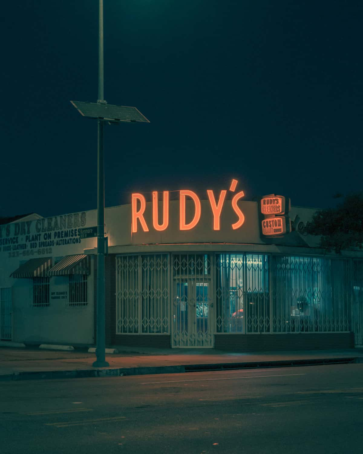 Photography by Franck Bohbot – L.A. Confidential – Rudy's Cleaners