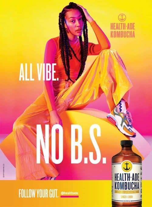 Photography – Health Ade Kombucha Summer 2019 Vibrant and Colorful Campaign – All Vi ...