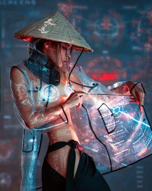 Photography / Photo Manipulation – Futuristic Cyber Punk Girls