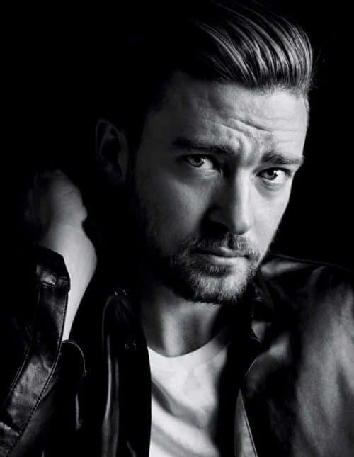 Photography | Justin Timberlake | Black and White Portrait