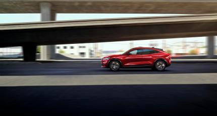 Automotive Photography – All Electric Ford Mustang SUV Mach E