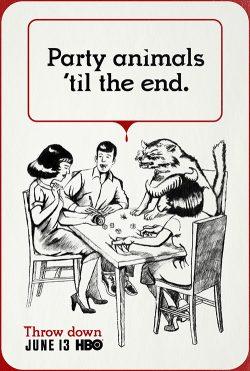 Key Art by Jason Burnam – True Blood – Party Animals Til The End