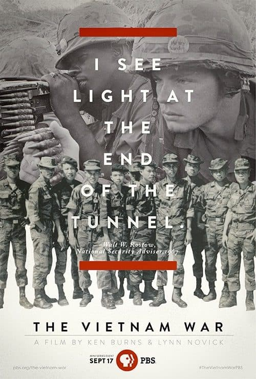 Key Art by Jason Burnam – The Vietnam War – I See the Light At the End of the Tunnel