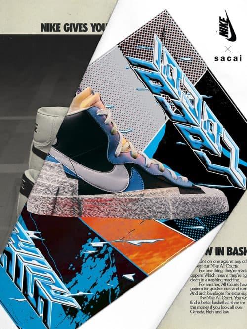 Kazuhiro Aihara – Graphic Design – Nike Sneaker Poster