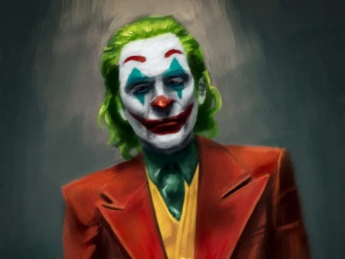 Joker Matte Painting Design