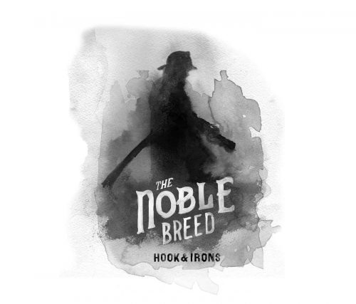 Glenn Wolk – Black and White Water Color Painting Style Designs – The Noble Breed Ho ...