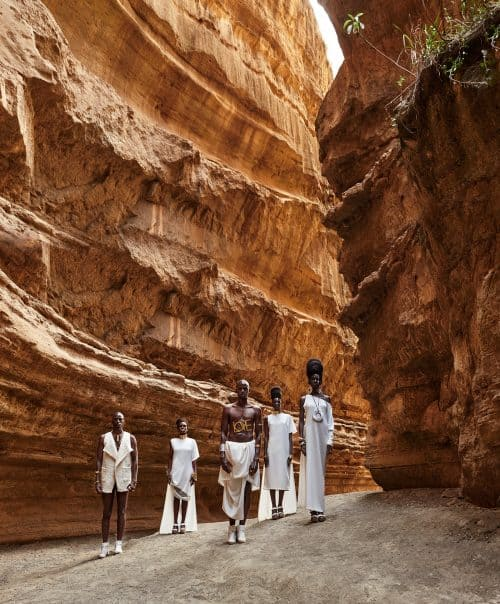 Desert Canyon Portrait Photography – The Great Kenyan Adventure in Africa