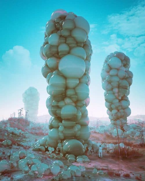 3D C4D | The Imaginative Futuristic and Surreal Worlds of Mike Winkelmann (Beeple) – Bubbl ...
