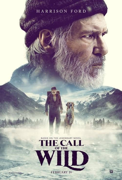 "Harrison Ford ""Call of the Wild"" Official Movie Poster"