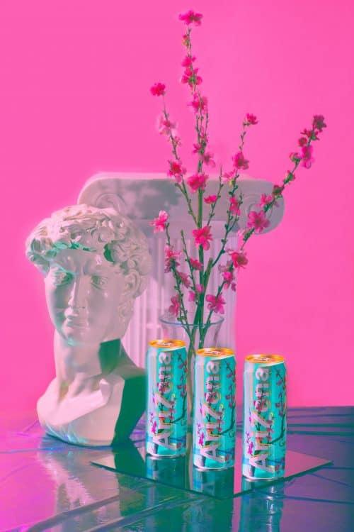 Sam Delos Reyes Strickland – Still Life Photography – Vaporwave – Arizona Iced Tea