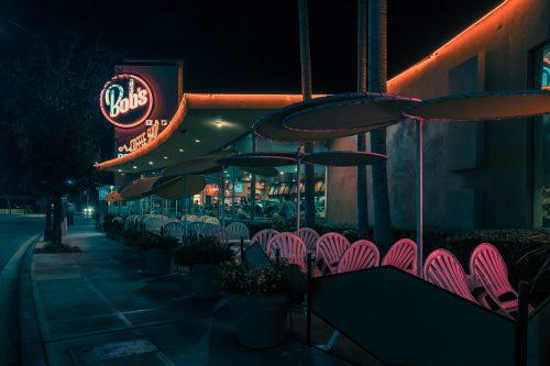 Photography by Franck Bohbot – L.A. Confidential – Bob's Burger