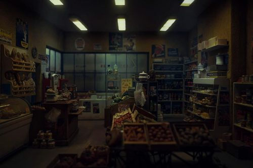 Miniature Model Photography | Dark Little Grocery Store | Shot with the Leica L9 – Adobe C ...