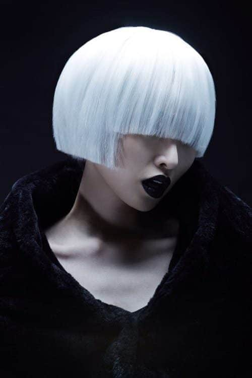 Futuristic Japanese Portrait Photography