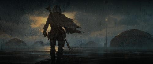 Concept Art – Disney + The Mandalorian Star Wars Series