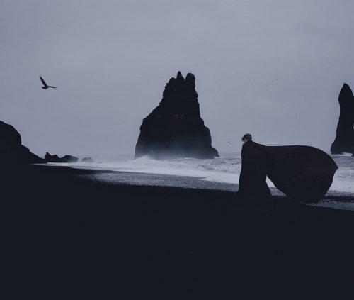 Stunning Surreal Photography Manipulation – Pulkit Kamal – Stroll by the sea