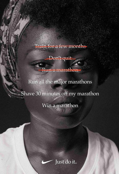 Nike Print Ad | Run | Just Do It