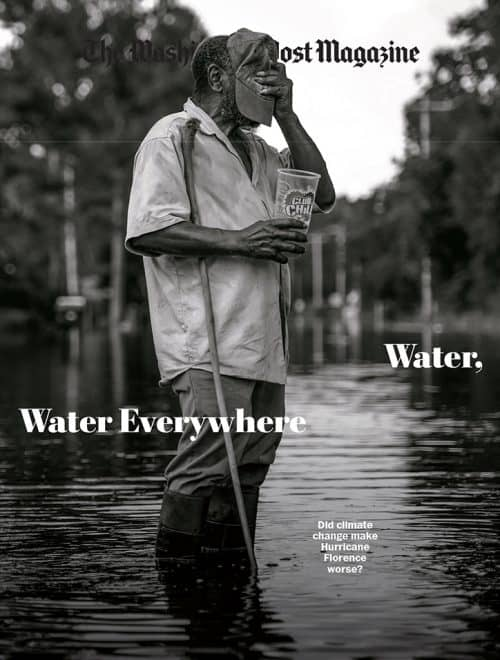 The Washington Post Magazine Climate Change Cover Art