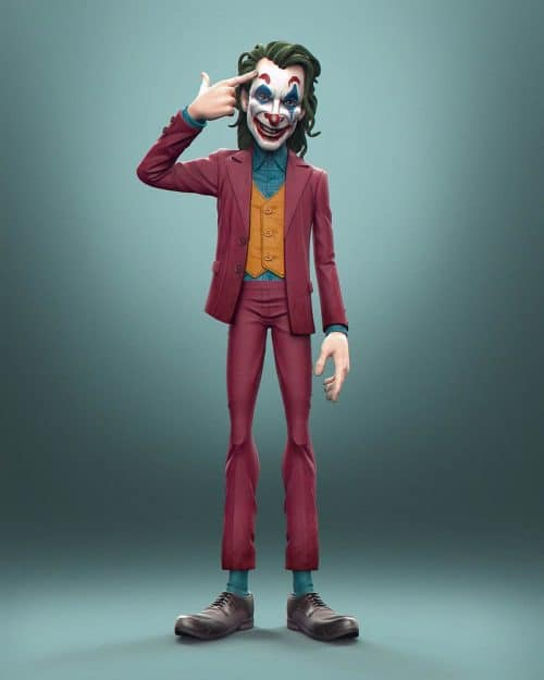 3D Model | Joaquin Phoenix as Joker (2019)