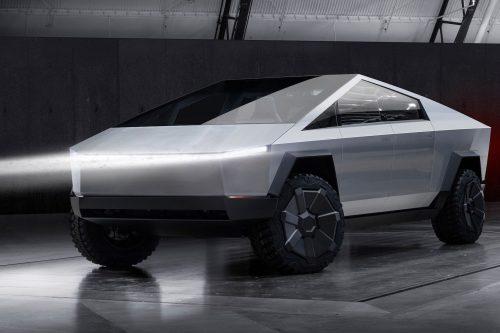 New Tesla Cybertruck